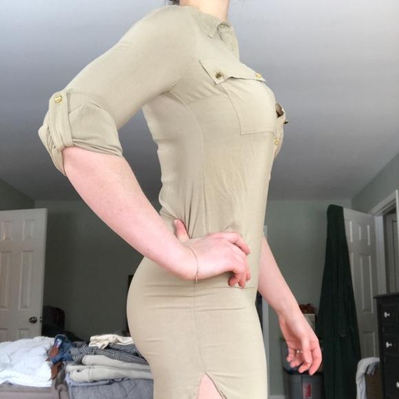 Michael Kors Dresses & Skirts - Michael Kors Taupe Tunic/Dress